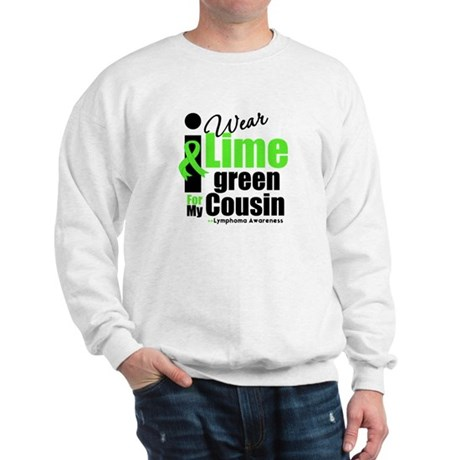 I Wear Lime Green Cousin Sweatshirt