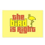The Bird Is Right Postcards (Package of 8)