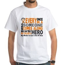HERO Comes Along 1 Mother-In-Law LEUKEMIA Shirt