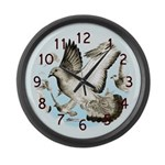 Almost Home! Large Wall Clock