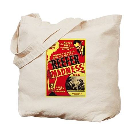 Vintage Reefer Madness Tote Bag