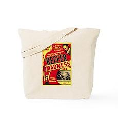 Vintage Reefer Madness Tote Bag