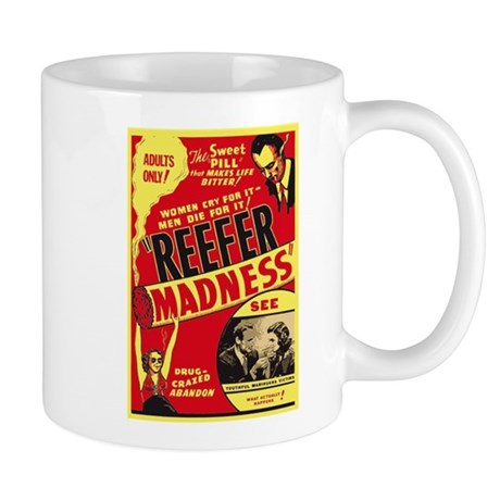 Vintage Reefer Madness Mug