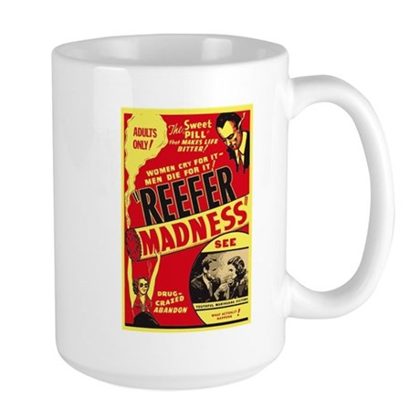Vintage Reefer Madness Large Mug