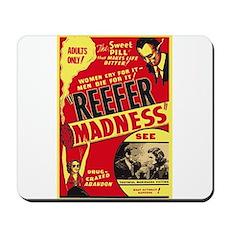 Vintage Reefer Madness Mousepad