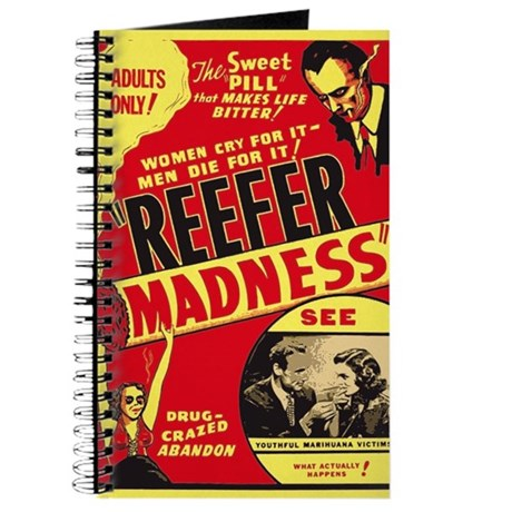 Vintage Reefer Madness Journal