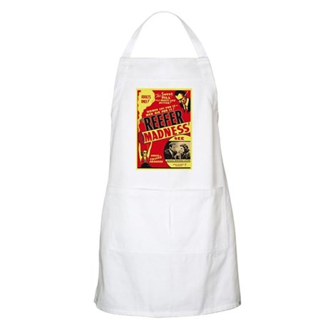 Vintage Reefer Madness BBQ Apron