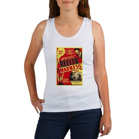 Vintage Reefer Madness Womens Tank Top