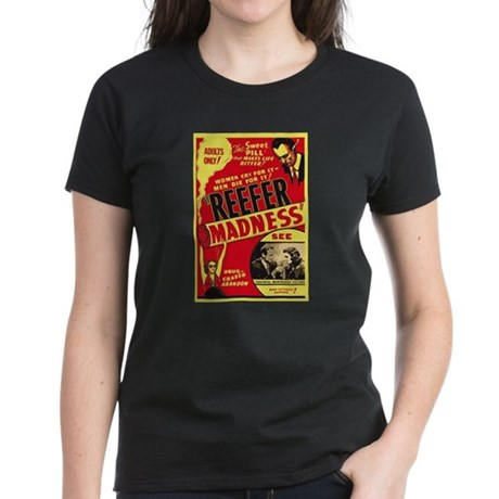 Vintage Reefer Madness Womens T-Shirt