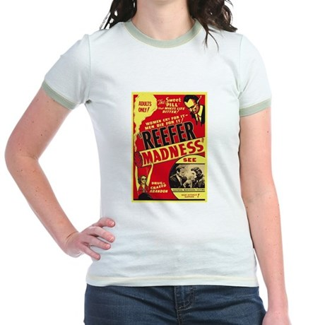Vintage Reefer Madness Jr Ringer T-Shirt