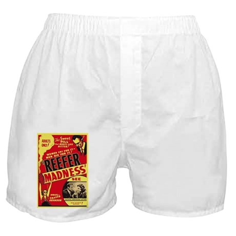 Vintage Reefer Madness Boxer Shorts