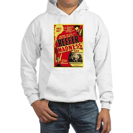Vintage Reefer Madness Hooded Sweatshirt