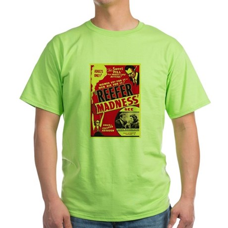 Vintage Reefer Madness Green T-Shirt