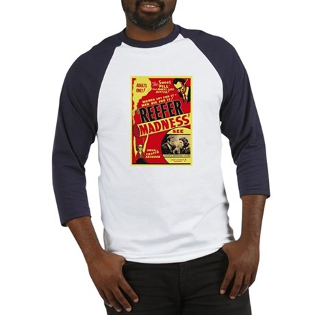 Vintage Reefer Madness Baseball Jersey