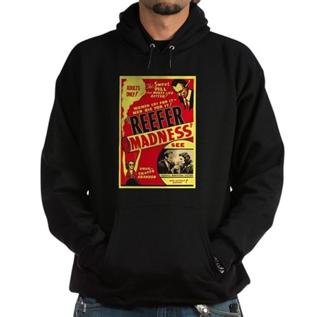Vintage Reefer Madness Dark Hoodie