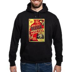Vintage Reefer Madness Dark Hoodie