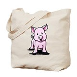Chatty Pig Tote Bag