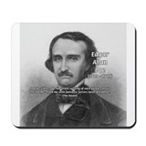 Gothic Edgar Allan Poe Mousepad