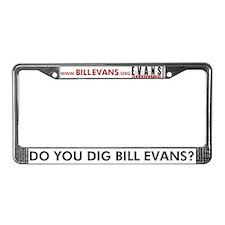 Cute Bill License Plate Frame