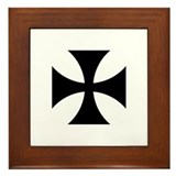 Iron Cross (Medieval) Framed Tile