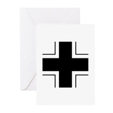 Iron Cross (Wehrmacht) Greeting Cards (Pk of 20)