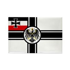 German War Ensign (1903-1919) Rectangle Magnet (10