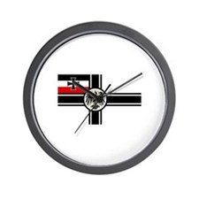 German War Ensign (1903-1919) Wall Clock