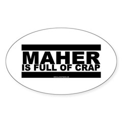 Maher Oval Sticker