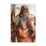 Music and Plato Mini Poster Print