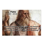 Music and Plato Postcards (Package of 8)