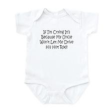 Drive My Uncles Hot Rod Infant Bodysuit