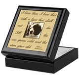 Toledo area humane society Keepsake Box