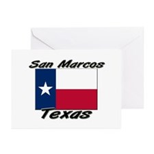 San Marcos Texas Greeting Cards (Pk of 10)