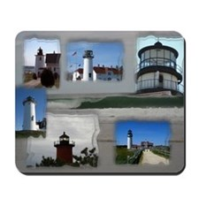 Lighthouse Collage Mousepad