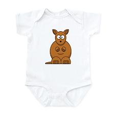 Cartoon Kangaroo Infant Bodysuit