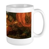 Durer Angel Playing Lute Mug