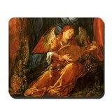 Durer Angel Playing Lute Mousepad
