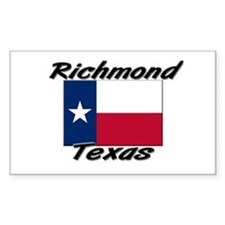 Richmond Texas Rectangle Decal