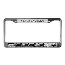 Unique Andalusian License Plate Frame
