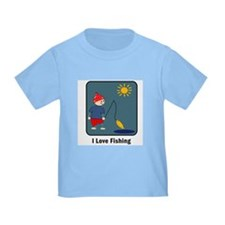 I Love Fishing T