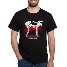 mma shirt Black 1 T-Shirt
