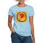 Wreath Gamecock Women's Light T-Shirt