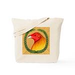 Wreath Gamecock Tote Bag