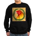 Wreath Gamecock Sweatshirt (dark)