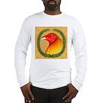 Wreath Gamecock Long Sleeve T-Shirt