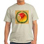 Wreath Gamecock Light T-Shirt