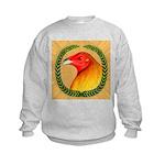 Wreath Gamecock Kids Sweatshirt