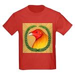Wreath Gamecock Kids Dark T-Shirt