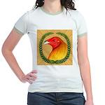Wreath Gamecock Jr. Ringer T-Shirt