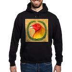 Wreath Gamecock Hoodie (dark)